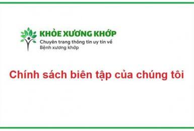 Chính sách biên tập của tricottan.com.vn