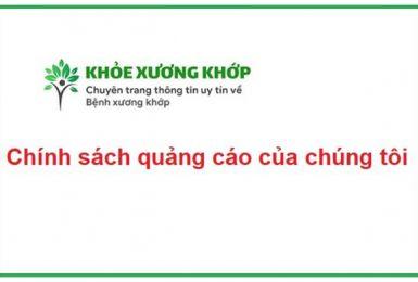Chính sách quảng cáo của tricottan.com.vn