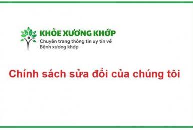 Chính sách sửa đổi của tricottan.com.vn