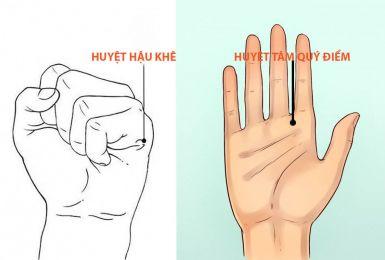 Phương pháp bấm huyệt bàn tay và cách bấm huyệt đơn giản