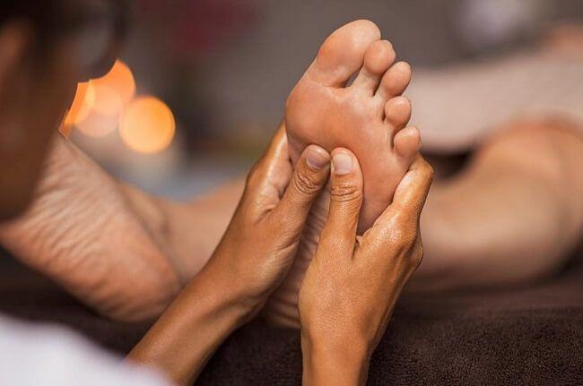 Tác dụng của bấm huyệt chân