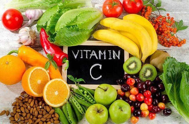 Bổ sung các thực phẩm giàu vitamin C